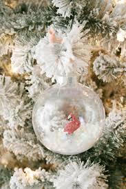 diy flamingo snow globe ornament club crafted