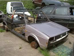 volkswagen golf 1986 vw golf 1 cabrio 1986 junkyard de mars zwolle nl 2009 flickr
