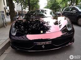 pink chrome ferrari ferrari 458 italia spotting cool color or uncool photoshop trickery