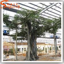 tropical ornamental plants artificial plastic big banyan tree