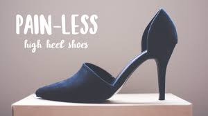 Comfortable High Heels Comfortable High Heels U0026 Insoles Talk Youtube