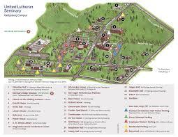 Gettysburg Map Gettysburg Campus U2013 United Lutheran Seminary