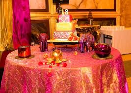 Party Tables Linens - 34 best bollywood party images on pinterest birthday party ideas