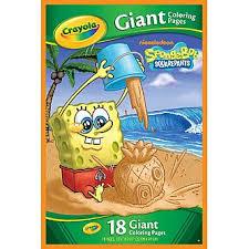 nickelodeon 18 spongebob coloring book
