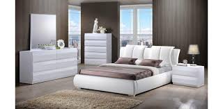 White King Platform Bed 8269 W Leather White Platform Bed Global Furniture