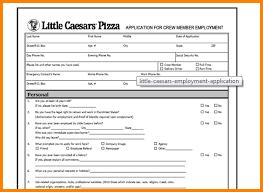 6 little caesars job applications agile resume