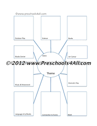 editable kindergarten lesson plan template