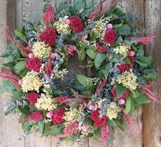 spring hydrangea wreath home decor with charm hydrangea