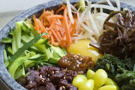 cuisine cor馥nne recette cuisine coréenne le bibimbap 비빔밥 kimshii
