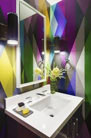 Bathroom Wallpaper Ideas Uk Colors Best 25 Wall Paint Patterns Ideas That You Will Like On Pinterest