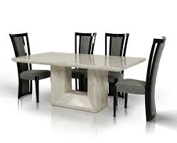Marble Dining Room Sets Mozart Modern Marble Dining Table