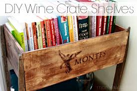 remodelaholic diy wine crate shelves