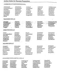 action words on resume action verbs used on resumes fresh essays action verbs used in