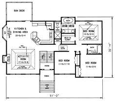 Split Level House Plan 1970s Split Level House Plans Split Level House Plan 26040sd