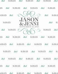 wedding backdrop logo custom wedding step and repeat backdrop bridal shower background