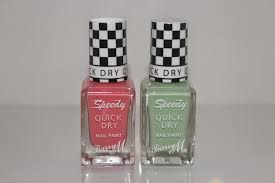 new barry m speedy nail paints bags of beauty