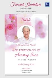 funeral invitation funeral invitation template funeral invitation templates 15