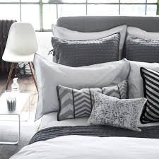 astor charcoal and dove bedding designers guild