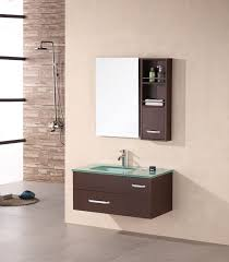 Modern Bathroom Vanities And Cabinets by Adorna 35 Inch Modern Bathroom Vanity Espresso Finish