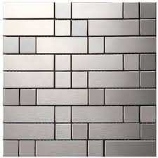 kitchen tile background buy strip metal mosaic stainless steel