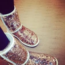 ugg glitter boots sale gold sequin ugg boots paired with some black would be an