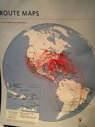 Delta Route Maps by Messy Af Airline U201cwhere We Fly U201d Maps Amanda Baines