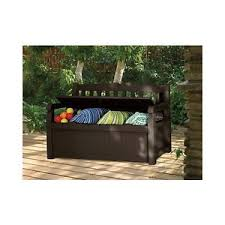 outdoor storage bench box seating furniture patio deck furniture