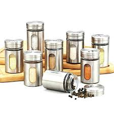 ebay kitchen canisters ebay kitchen canisters 8 kitchen canister jars stainless silver