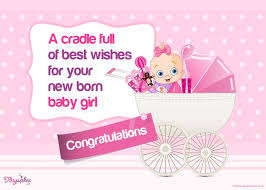 congratulations on new card free best wishes e card on birth of baby girl new mummy