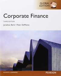 cooperate finance 3e solution manual 书后习题答案berk demarzo