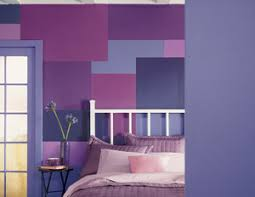 Bedrooms Painted Purple - interior paint ideas and schemes from the color wheel