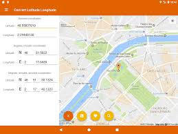 Longitude And Latitude Map Of The World Latitude Longitude Convert Android Apps On Google Play