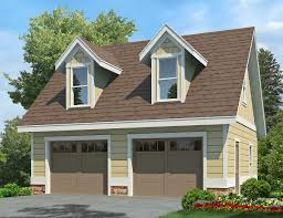 Cottage Plans With Garage 2 Car Garage With Dormers 92081vs Architectural Designs