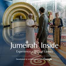 burj al arab inside jumeirah and google collaborate to build an interactive experience