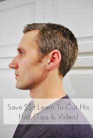 diy mens haircut how to cut your man s hair tips video young house love