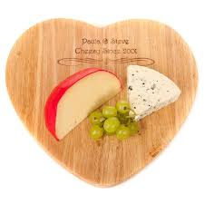 cheese board engraved personalised engraved bamboo wooden chopping cheese board wedding