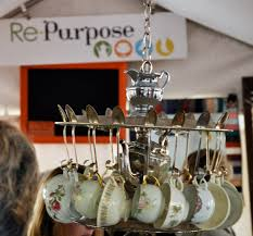 Tea Cup Chandelier Love This Teacup Chandelier From Repurpose Amybarickman