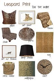 Leopard Print Home Decor Decorating With Leopard Print Decor J Decor