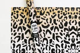 cheetah print wrapping paper leopard print wrapping paper animal print gift wrap cheetah print