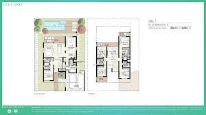 5 bedroom floor plans links villas 5 bedroom floor plan