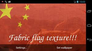 3d china flag live wallpaper android apps on google play