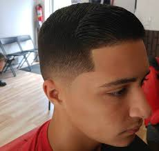 fade haircut spiky hairs picture gallery
