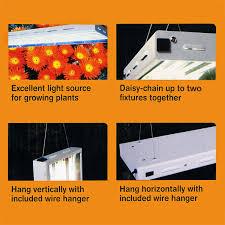 sun blaze 960305 fluorescent grow light fixture