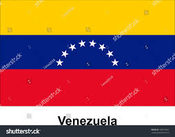 Venezuela Flag Colors Vector Image Flag Venezuela Stock Vector 409915867 Shutterstock