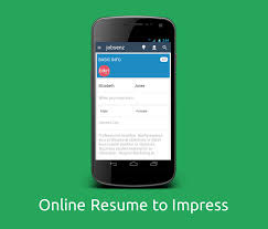 Free Online Resume Builder For Freshers by Jobsenz Resume Builder Android Apps On Google Play