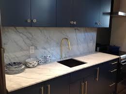 Navy Blue Kitchen Cabinets Brass Hardware Design Ideas - Navy kitchen cabinets