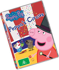 peppa pig peppa u0027s circus dvd review salty popcorn