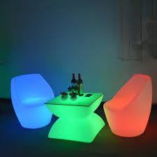 Led Outdoor Furniture - led outdoor furniture glowing table low coffee table 100