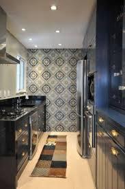 kitchen modern contemporary kitchen decoration with brown wooden