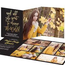 senior graduation announcements graduation invitations custom designs from pear tree